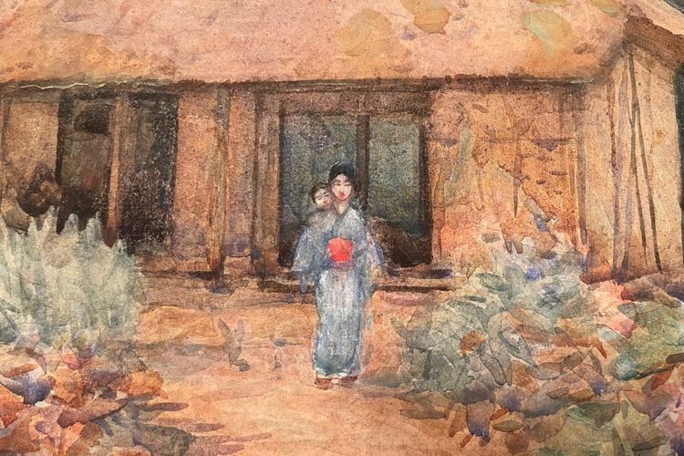 Discovered: a picture by Van Gogh's friend Edmund Brooke, just bought in America for $45