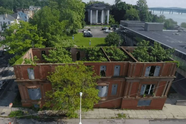 Martin Roth's posthumous project to turn an abandoned upstate building into a living 'plant concert' is nearly complete