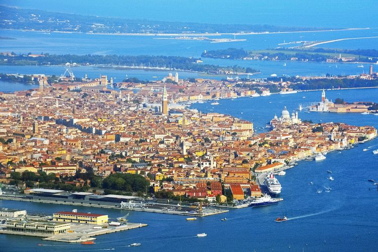 According to Unesco, Venice and its lagoon are not in danger
