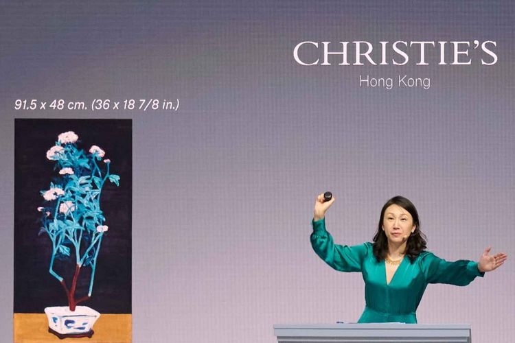 Christie's results for first half of 2021 show marked shift towards Asia, online and private sales—and female auctioneers