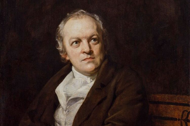 Extract   William Blake's famous flop of an exhibition and the critic who described him as 'an unfortunate lunatic'