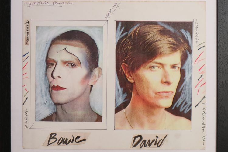 Let's bid: David Bowie album artwork for sale, direct from the artist who created it