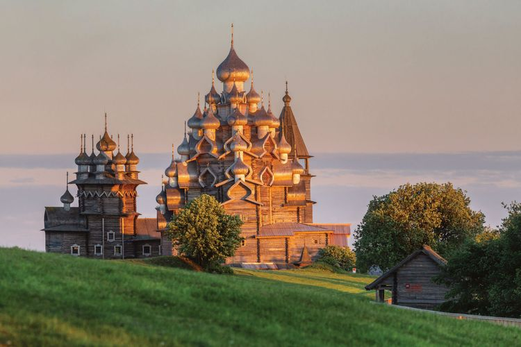 Nailed it: Kizhi Pogost church is finally restored on Russian island of remarkable wooden buildings