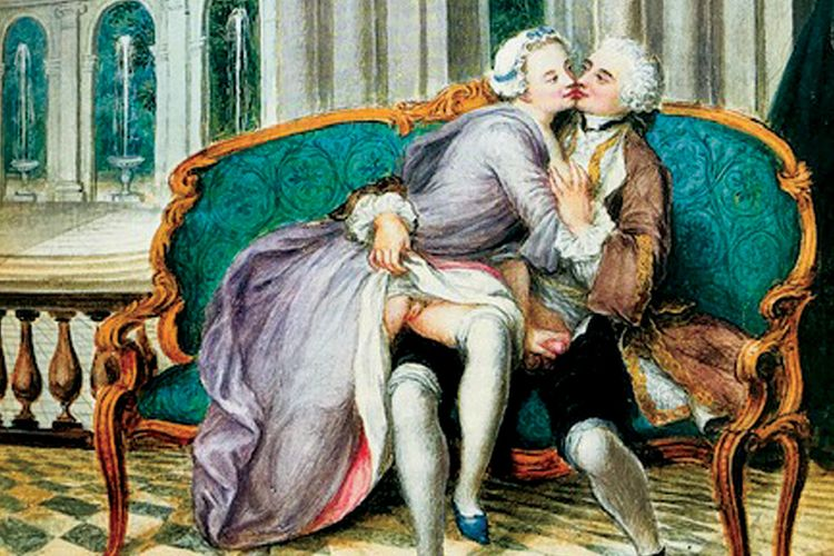 Not quite 50 shades of gris: new book on 18th-century French art reveals discrete gradations of erotic images