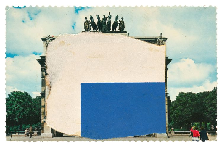 Picture perfect: Ellsworth Kelly's rarely seen postcard collages on view in Saratoga