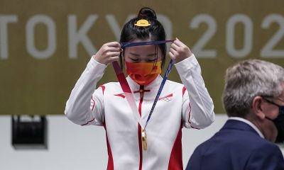 Tokyo Olympics' first gold medal awarded in shooting event