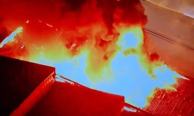 Warehouse of the Cinemateca Brasileira is struck by fire