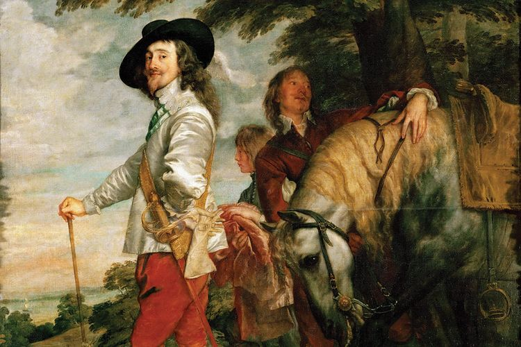 Book review | Van Dyck's greatest portraits as an opera in four acts