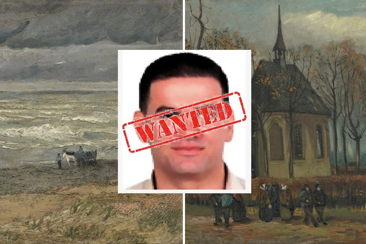 Caught: the drug baron who claims to have bought €20m stolen Van Gogh paintings for 'their artistic value'