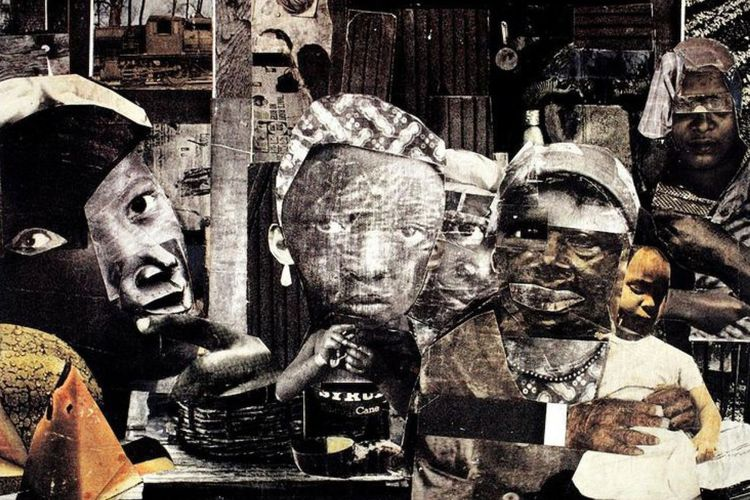 Extract   A rare pamphlet from a historic Black art exhibition by the Spiral collective