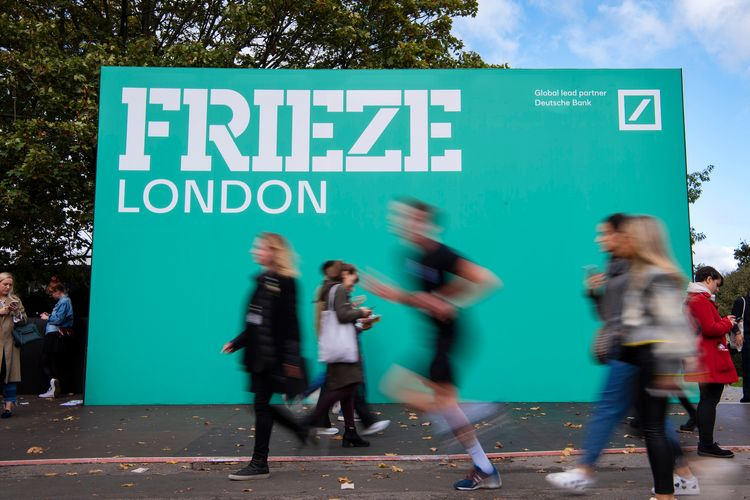 Frieze Art Fairs return to Regent's Park in October—so what has changed since 2019?