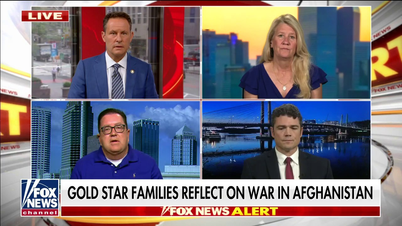 Gold Star wife expresses worry amid Afghanistan withdrawel : 'Our hearts are broken'