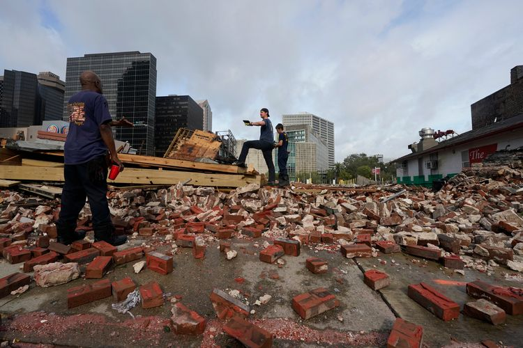 Louis Armstrong's 'second home' in New Orleans destroyed by Hurricane Ida