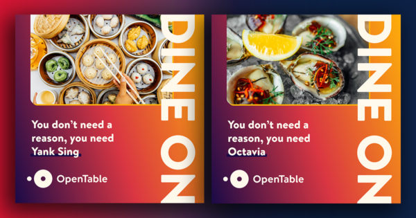OpenTable's New Campaign Promotes Safe Dining, New Features
