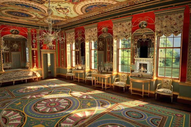 Review   An important project somewhat marred by its execution: the Corning Museum's VR recreation of a lost glass drawing room in a London palace