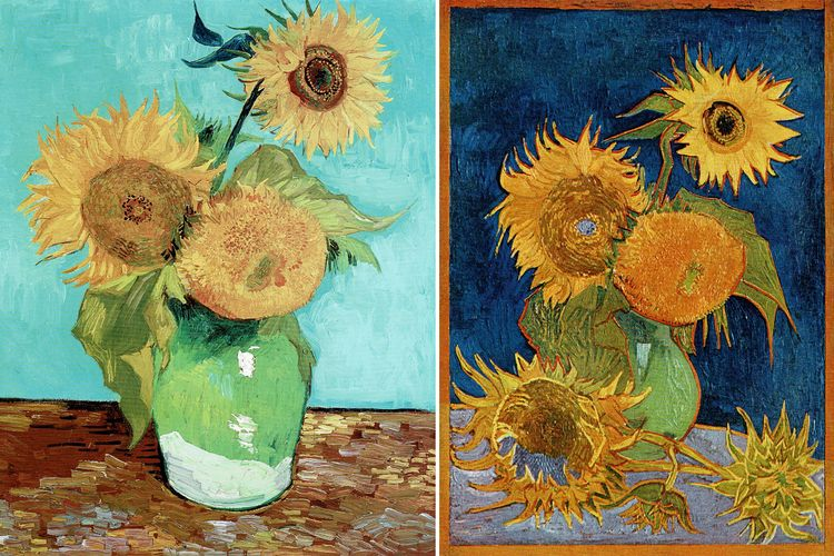 Secrets of the two unknown Van Gogh Sunflowers