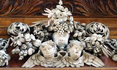The 'Michelangelo of wood carving': exhibition celebrates life and work of Grinling Gibbons, 300 years after his death