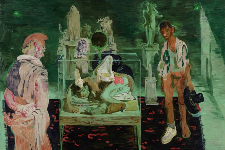 Contemporary paintings will hang with the Frick's Old Masters in new contemporary art series
