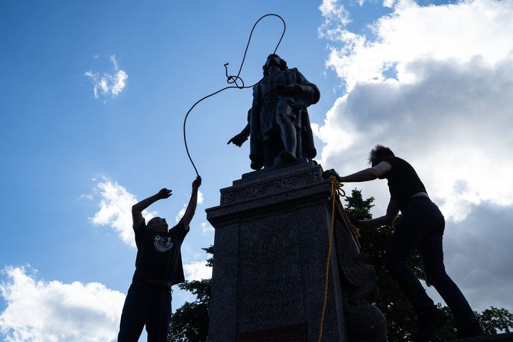 Destroying public symbols of the past will not lead to a juster society. We must keep our mistakes visible