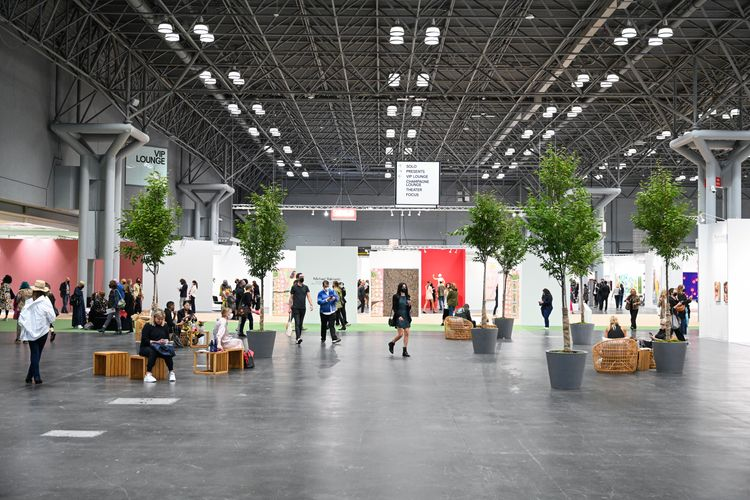 'Exactly what we needed': Armory Show returns to New York in a new, modern location