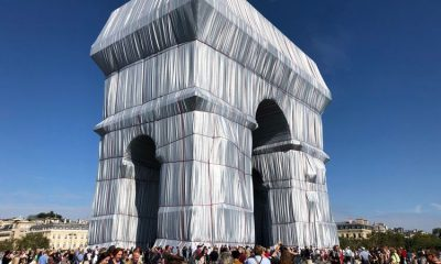 It's a wrap: Christo and Jeanne-Claude's final fabric project unveiled in Paris