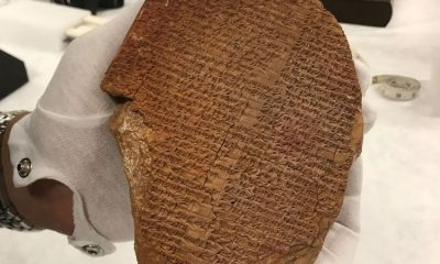 Looted Gilgamesh tablet returned to Iraq