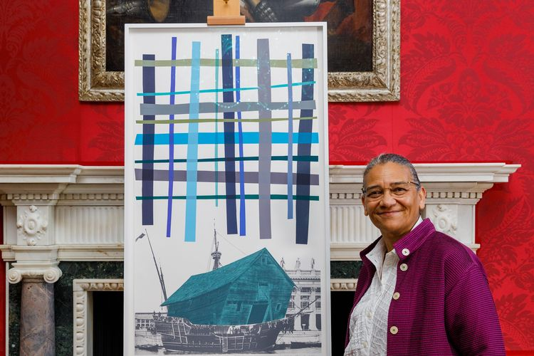 Lubaina Himid creates work for UK government collection inspired by climate change and Black Lives Matter