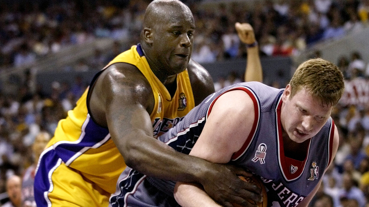 Shaquille O'Neal blasts Nets for 2002 NBA Finals performance against him: 'It was boring'