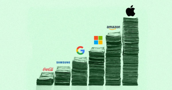 Apple, Amazon Lead Interbrand Global Brand Value Research