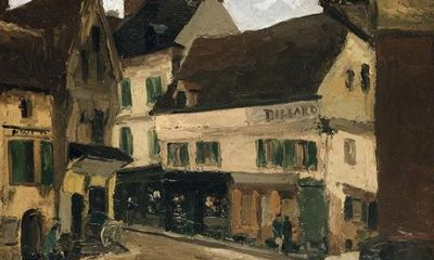 Berlin museum restitutes—and then buys back—Nazi-looted Pissarro painting