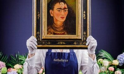 Head over to Sotheby's in London for a chance to see Frida Kahlo's $30m self-portrait before it goes under the hammer