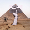 JR blows the top off Egypt's Great Pyramid: first look at Cairo show of contemporary sculpture
