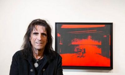 Rock Legend Alice Cooper is selling the Warhol he forgot he owned—then found in his garage