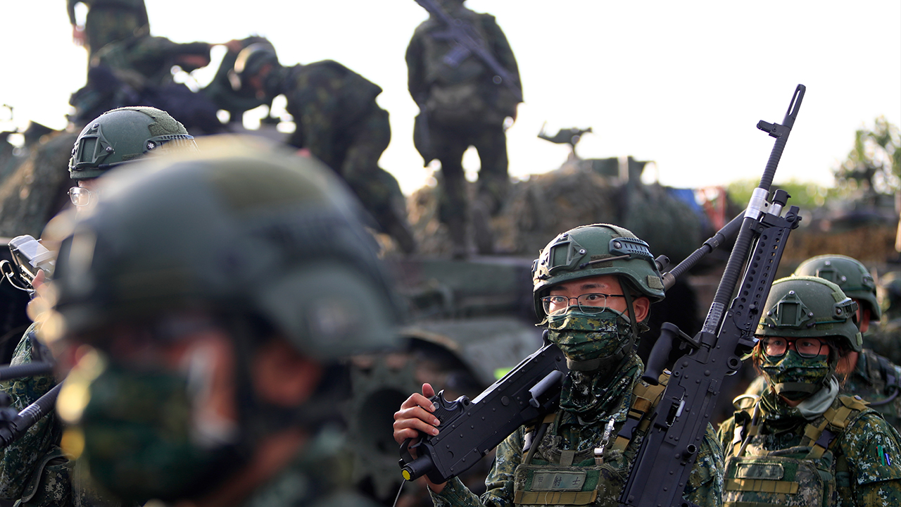 Taiwan will not start war with China, top military official says