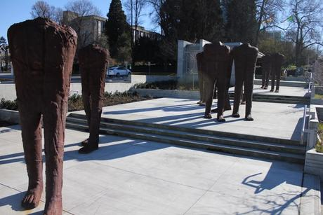 Vancouver Biennial seeks donor to purchase $2m headless sculptures for the city