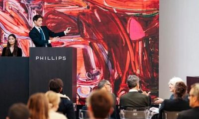 Young, emerging artists continue to dominate Frieze week auctions as Phillips sets seven records